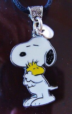 "SNOOPY and WOODSTOCK ""Peanuts"" PENDANTNecklace Jewelry - Charlie Brown's Beagle"