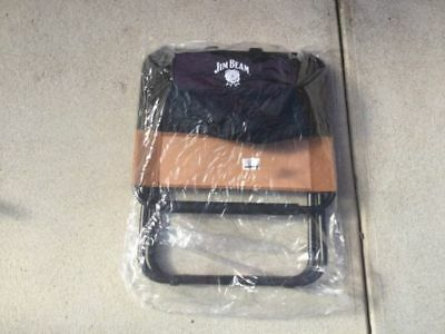 JIM BEAM Cooler Bag Chair. BRAND NEW. Foldable. Outstanding Collectable Item