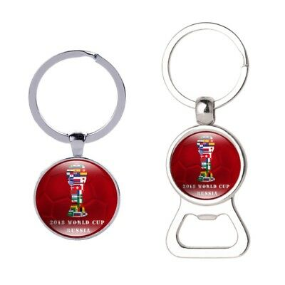 2018 Russia World Cup Keychain Trophy Key Ring Souvenir Supplies Soccer Keychain