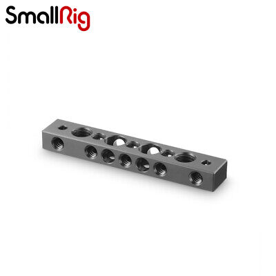 """SmallRig Camera Cheese Bar Cheese Plate with 1/4"""" 3/8"""" Threaded Holes 1091 -ZF"""