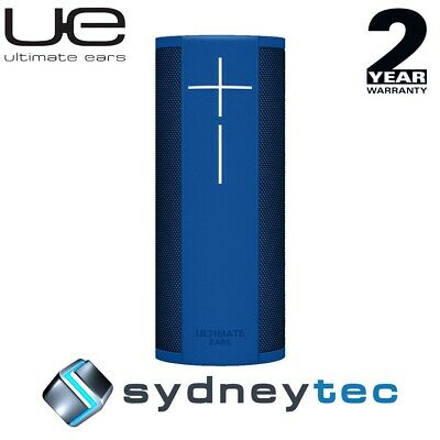 New UE Ultimate Ears MEGABLAST Bluetooth Speakers - Blue Steel