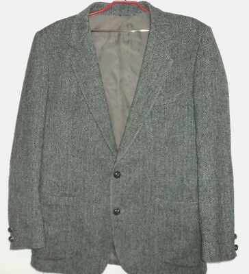 Sportscraft Men's Herringbone 70% wool jacket 107cm R
