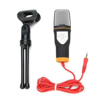HOT Professional Condenser Sound Podcast Studio Microphone For PC Laptop Skype