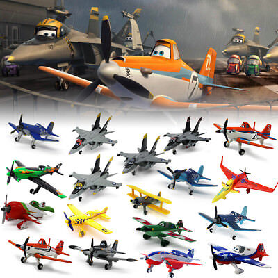 1:55 Model Disney Pixar Diecast Planes Dusty Ishani Skipper Davis Metal Kids Toy