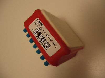 Swix F4 Combi Brush T0166B, Felt & Brush  For Wax And Paste,  Made In Germany