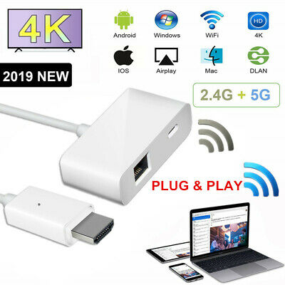1080P Wireless WIFI Display Dongle Adapter HDMI Receiver for Android/iOS/Windows