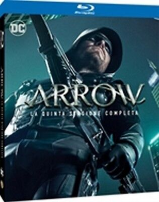 Arrow - Stagione 5 (4 Blu-Ray Disc) - ITALIANO ORIGINALE SIGILLATO -