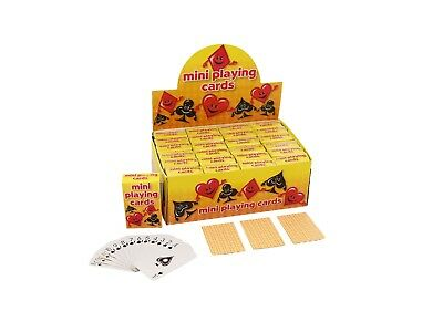 Mini Playing Cards Fun Mini Playing Cards What A Bargain !!!