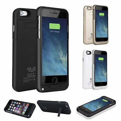 SAVFY External Battery Backup Power Bank Charger Case for iPhone 6/6S/7 Plus US