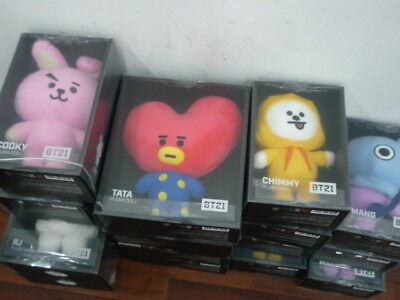Official BTS Line Friends BT21 plush standing doll  new sealed