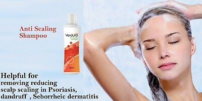 Scaling Scalp Shampoo Itchiness Eczema Psoriasis Dandruff -200ml NEW - Uk Seller
