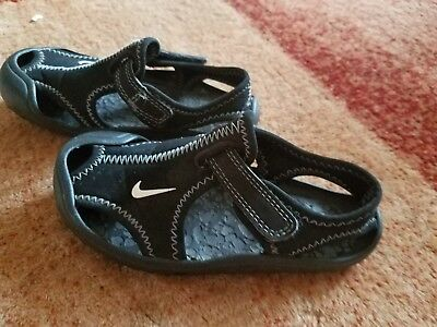 1be580820b40 NIKE KIDS sunray protect beach water shoes sandals UK infant 6.5 ...