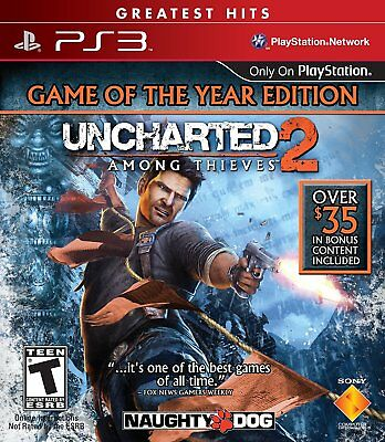 Uncharted 2 Among thieves GOTY - PS3 IMPORT neuf sous blister