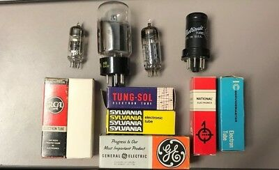 General Electric 6W4GTA Vacuum Tube TESTED!