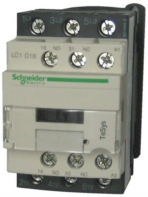 Schneider Electric TeSys Offer (LC1D18U7) 3Pole Contactor ; 9kW ; 240V AC Coil