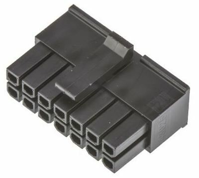 Molex MICRO-FIT 3.0 43025, 3mm Pitch, 14 Way, 2 Row Female Connector Housing