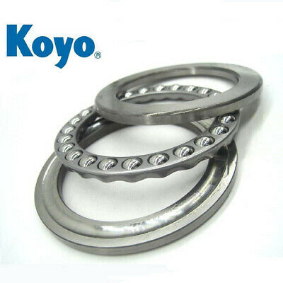 KOYO 51111 Metric Three Piece Thrust Bearing 55mm x 78mm x 16mm
