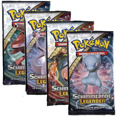Pokemon Booster - Schimmernde Legenden - Deutsch - OVP