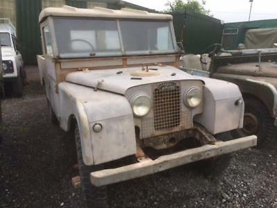 Land Rover Series 1 109 inch With Full PTO - Superb Chassis & Bulkhead