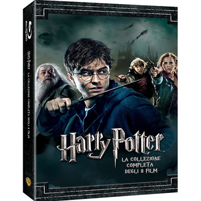 Harry Potter Collection (Standard Edition) (8 Blu-Ray)  [Blu-Ray Nuovo]