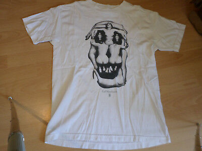 GIRL SKATEBOARDS Shirt Skate Rags NEW DEAL Sessions Thrash Girls Skull