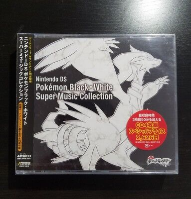 Pokemon Black and White Super Music Collection Official Soundtrack OST