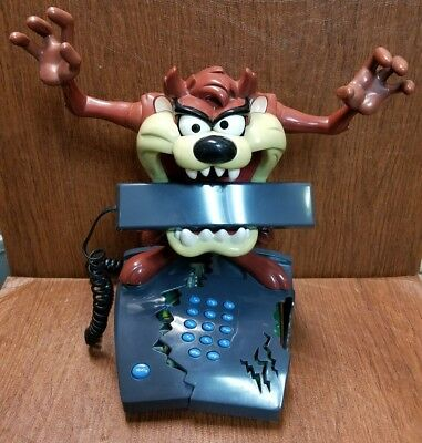 Tasmanian Devil Taz Mania Looney Tunes Animated House Home Phone