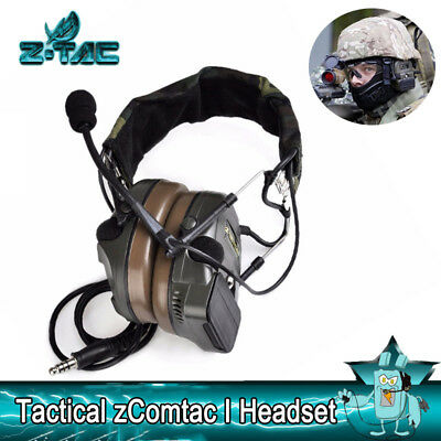 Z-TAC Z-tactical zComtac I Headset Airsoft headset Hunting shooting headphones