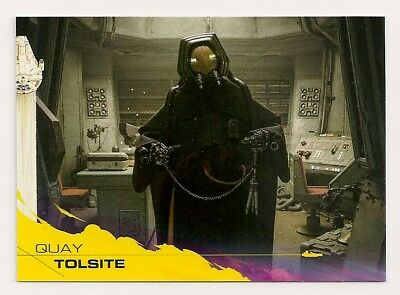2018 Topps Star Wars Solo Yellow Parallel #61 Quay Tolsite