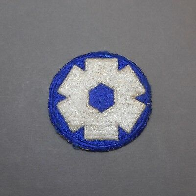 Vintage WWII Army 6th Service Command US Military Uniform Shoulder Patch