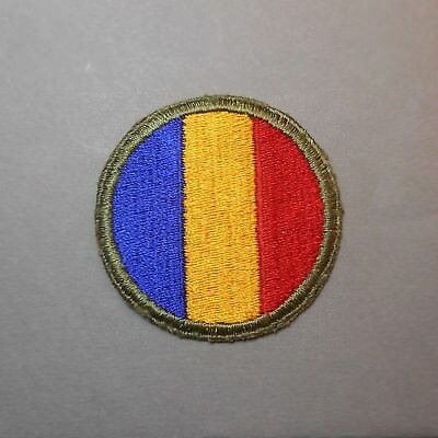 Vintage Original WWII US Army Ground Forces Replacement Depots & School Patch