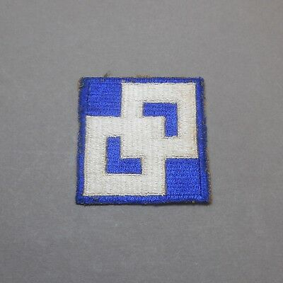 Vintage WWII Army 2nd Service Command US Military Uniform Shoulder Patch