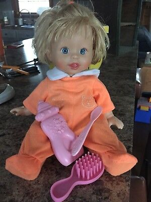 2007 Fisher Price Little Mommy Interactive Baby Doll