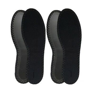 Jo HappyStep 2 Pairs Terry Insoles The Best Barefoot Insoles Ideal for Walking