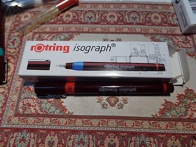 rOtring  Isograph Tuschefüller 0,18 mm