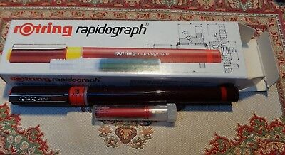 rotring rapidograph - 0,18