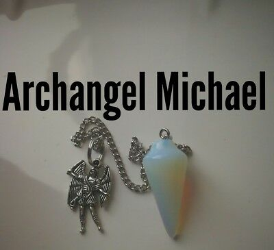 Code 938 Opalite Pendulum Infused Angel of Truth Virtue Certified Practitioner