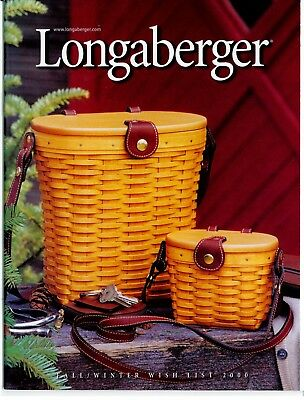 Longaberger Fall/Winter 2000 WishList/Catalog - Unstamped