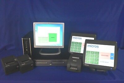 MICROS e7 POS Package v.4.2 TLS 1.2, PCI  2 - WS5 1 YR Warranty and Tech Support
