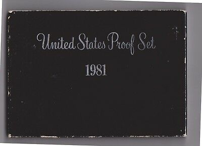 (H99-28) 1981 USA proof set (AC)