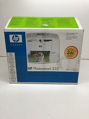 HP Photosmart 335 Printer In Box New Read Notes