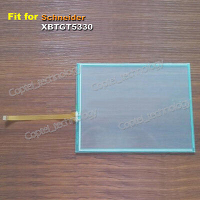 New Touch Screen Glass for Schneider XBTGT5330 XBT GT5330 One Year Warranty