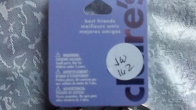 Claire's Best Friends Key Chains Set Of 3 Jw162