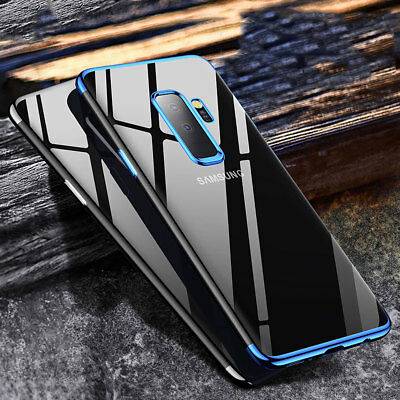 For Samsung Galaxy S9 / S9+ Plus TPU Silicone Clear Case Bumper Rubber Protector