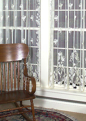 """Gorgeous """"windsor"""" Heritage Lace Curtain Panel"""