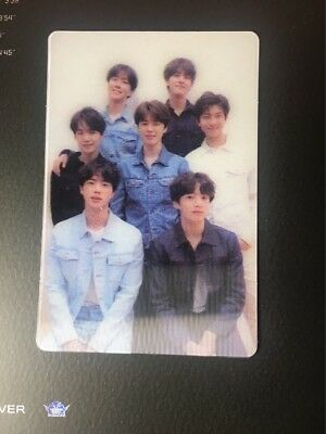 BTS LOVE YOURSELF TEAR Special Official Group Photocard