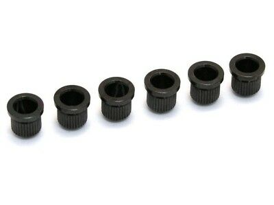 Quality Socket String Body Ferrule BLACK set for Fender Tele Telecaster Guitar