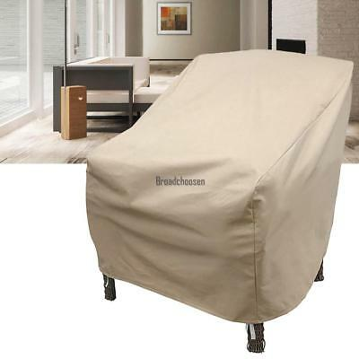 Waterproof Outdoor High Back Patio Single Chair Cover Protection Furniture