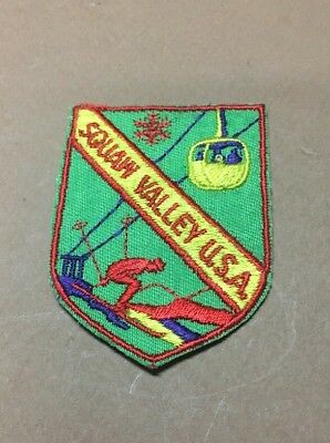 """Vintage Squaw Valley Patch Skiing 2.75"""" Lake Tahoe"""