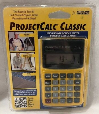 Calculated Industries 8503 C ES F ProjectCalc Classic Home Project Calculator